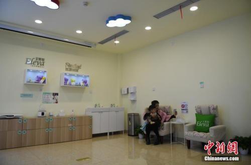 资料图:智能母婴室内休息。 中新社记者 王刚 摄
