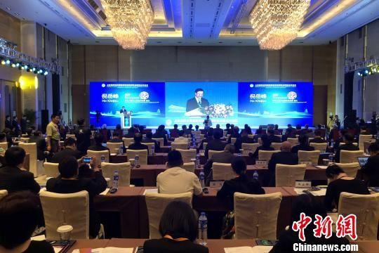 图为上海合作组织成员国跨境动物疫病联合防控合作会议现场。 梅镱泷 摄