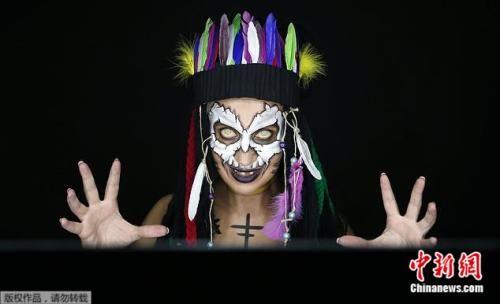 百变塞尔维亚化妆师:在身体上作画创造幻觉