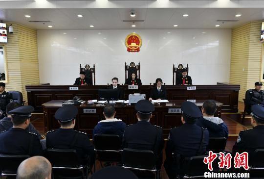 图为陕西省高级人民法院法庭宣判现场。 张勇 摄