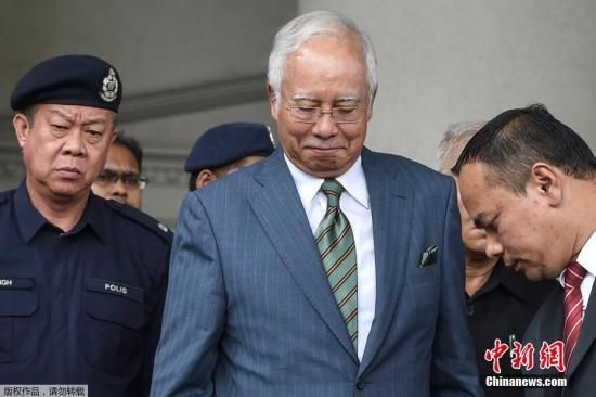 资料图:马来西亚前总理纳吉布。