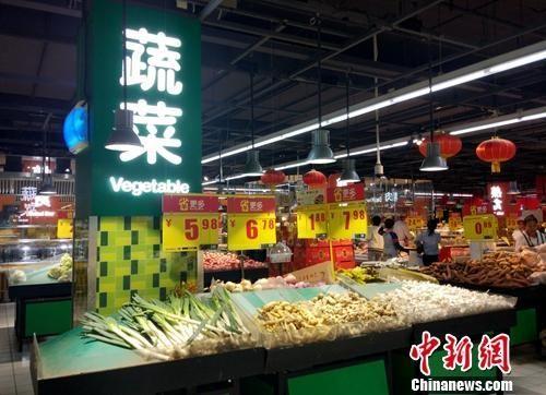 物价资料图。中新网记者 李金磊 摄