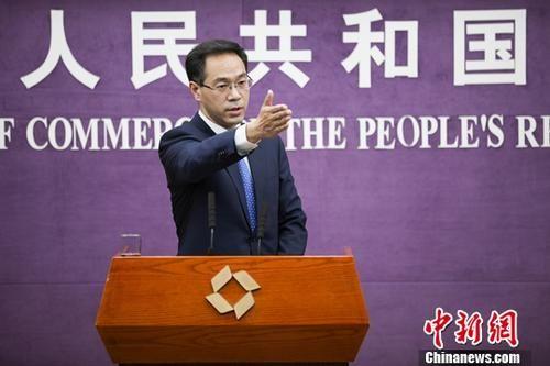 资料图片:商务部高峰。中新社记者 赵隽 摄