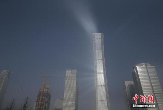 资料图:北京遭遇雾霾天。中新社记者 杨可佳 摄
