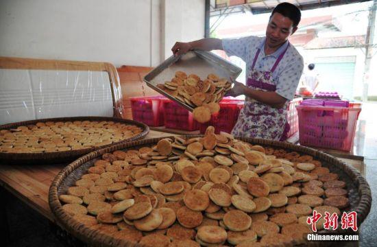 手工老月饼的回味与传承