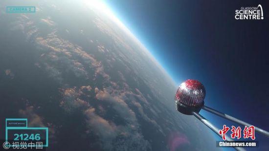 科研人员全程直播蛋糕往返太空