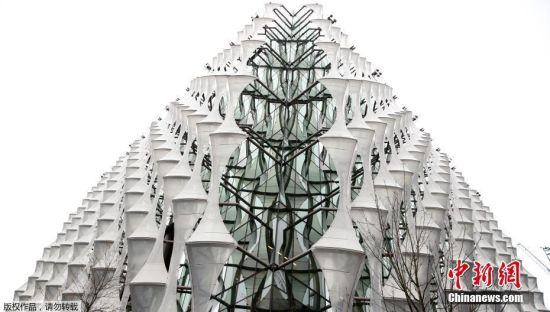 """美驻英大使馆新馆造价10亿美元 """"护城河""""防恐袭"""