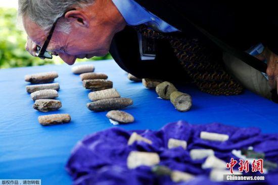 美国归还伊拉克3800件走私文物 历史可追溯至4000年前