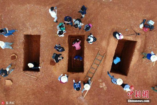 湖南益阳考古发掘墓葬86座文物400余件