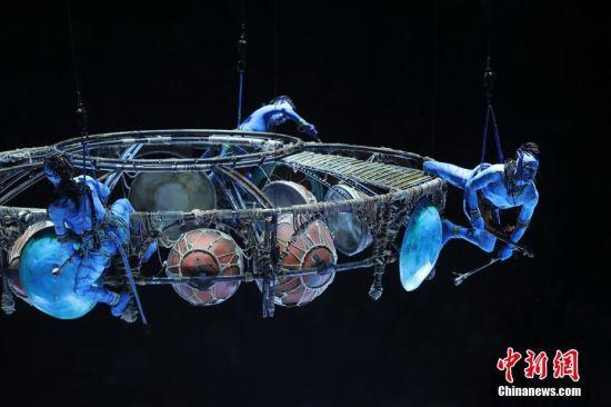 太阳马戏《阿凡达前传:托鲁克-首次翱翔》在北京首演