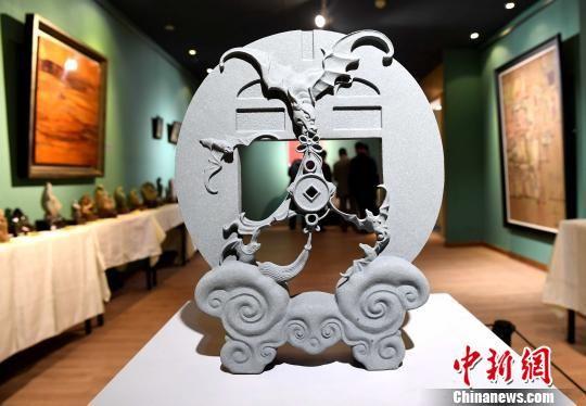 福建省手工艺精品展在福州开幕